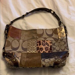 Vintage Coach Patchwork Purse